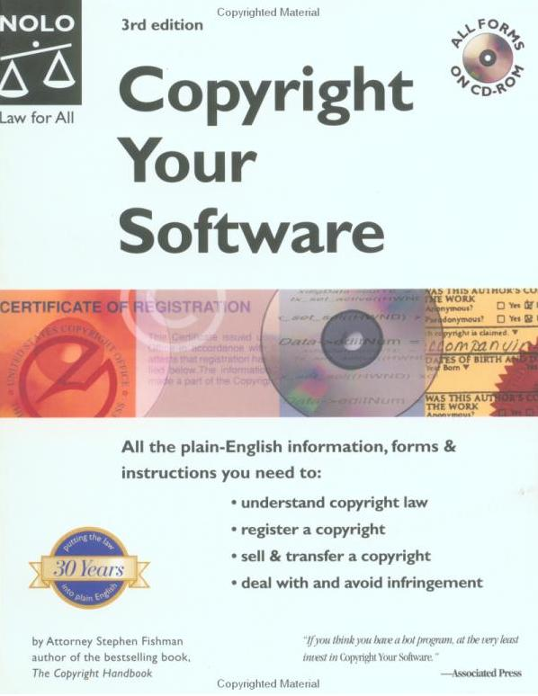 Copyright Your Software